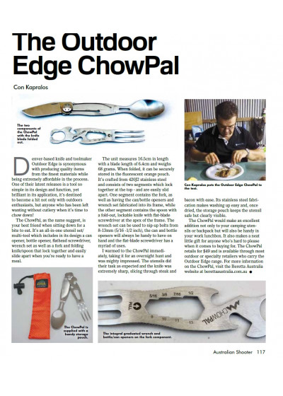 Outdoor Edge ChowPal by SSAA