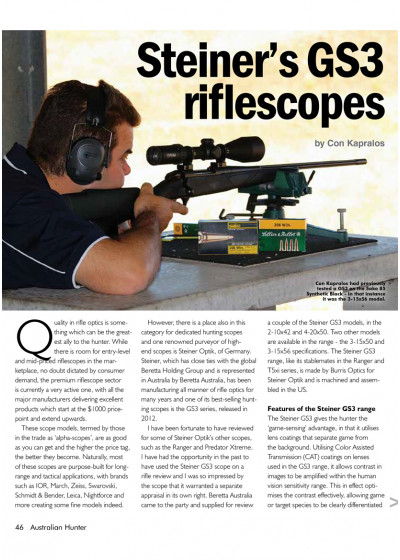 Steiner GS3 Riflescope