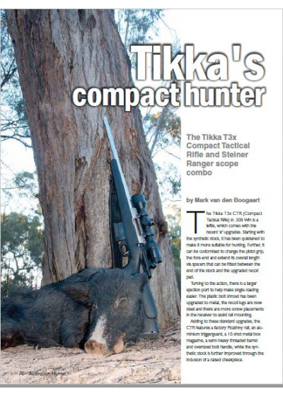 Tikka's Compact Hunter