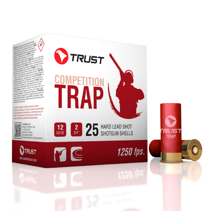 TRUST 12G TRAP RED 1250FPS 7.5