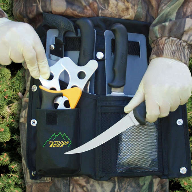 Outdoor Edge Butcher-Lite Rol-Pak