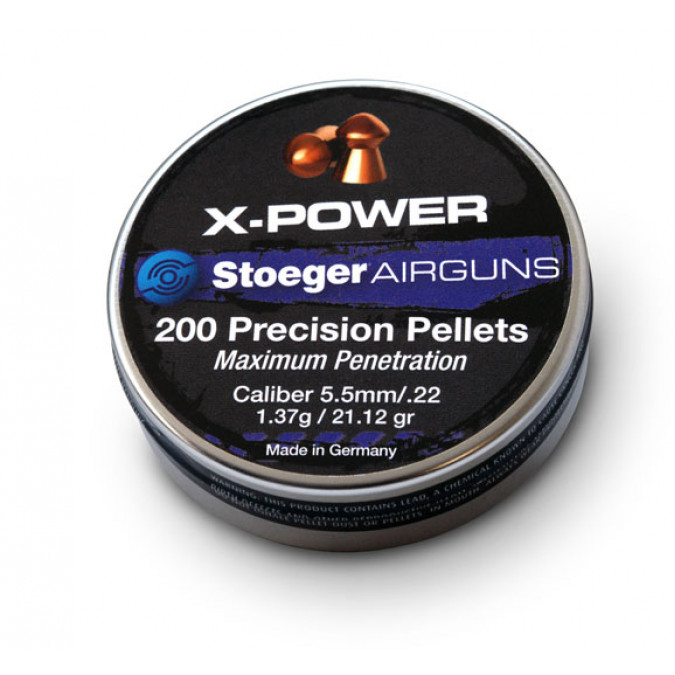 Stoeger Airguns Precision Pellets .22