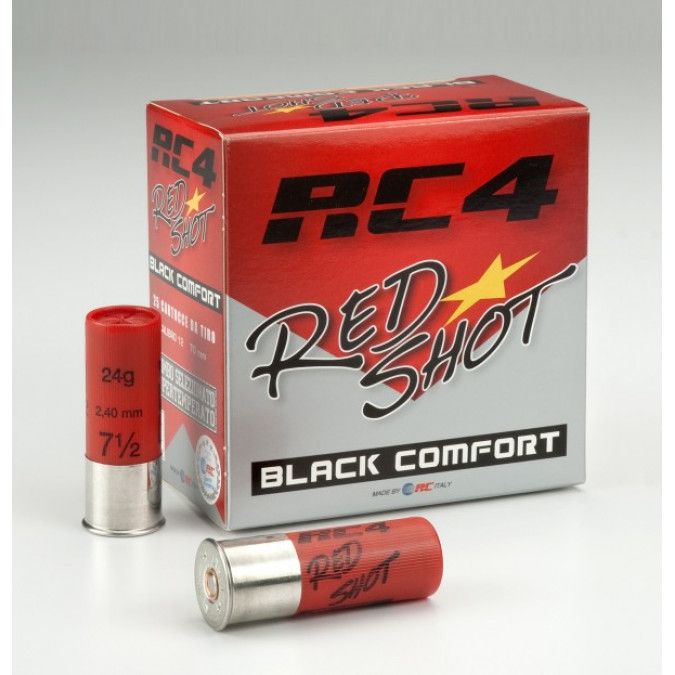RC4 Red Shot Black Comfort
