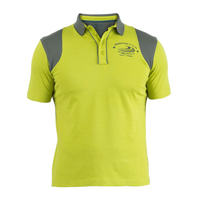 Beretta Cotton & Mesh Shooting Polo