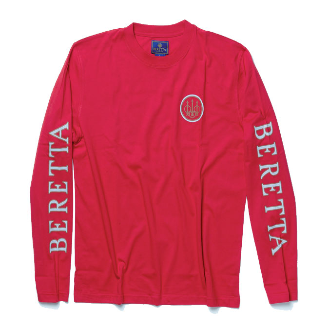 Beretta Double Logo Long Sleeve T-Shirt