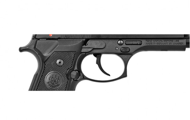 The M9_22LR is an exact replica of the M9 in  22 caliber and