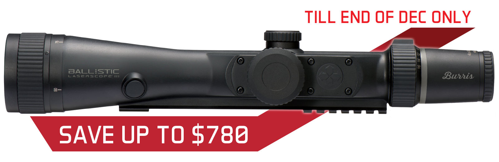 Burris Eliminator III Price Drop