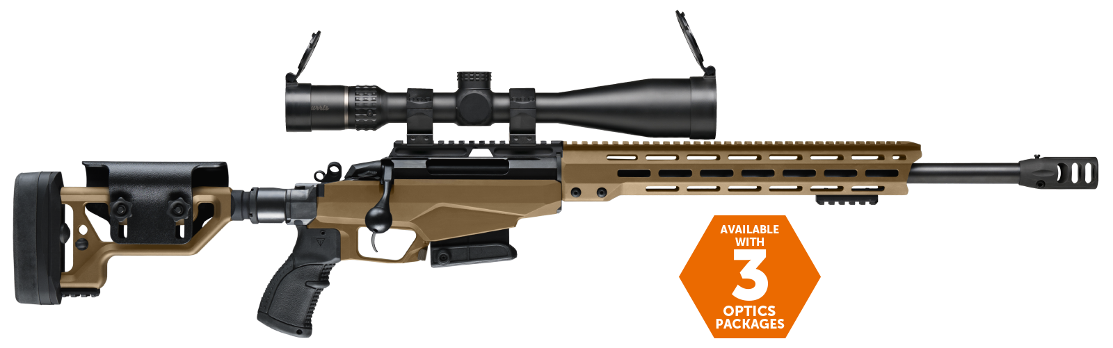 TIKKA TACT A1 & OPTICS PACKAGE